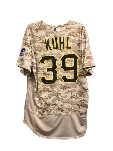 Photo of Chad Kuhl Game-Used Jersey