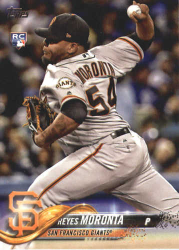 Photo of 2018 Topps #519 Reyes Moronta RC
