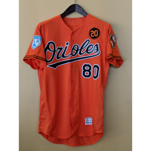 Photo of Yusniel Diaz - 2019 Spring Training Jersey: Game-Used
