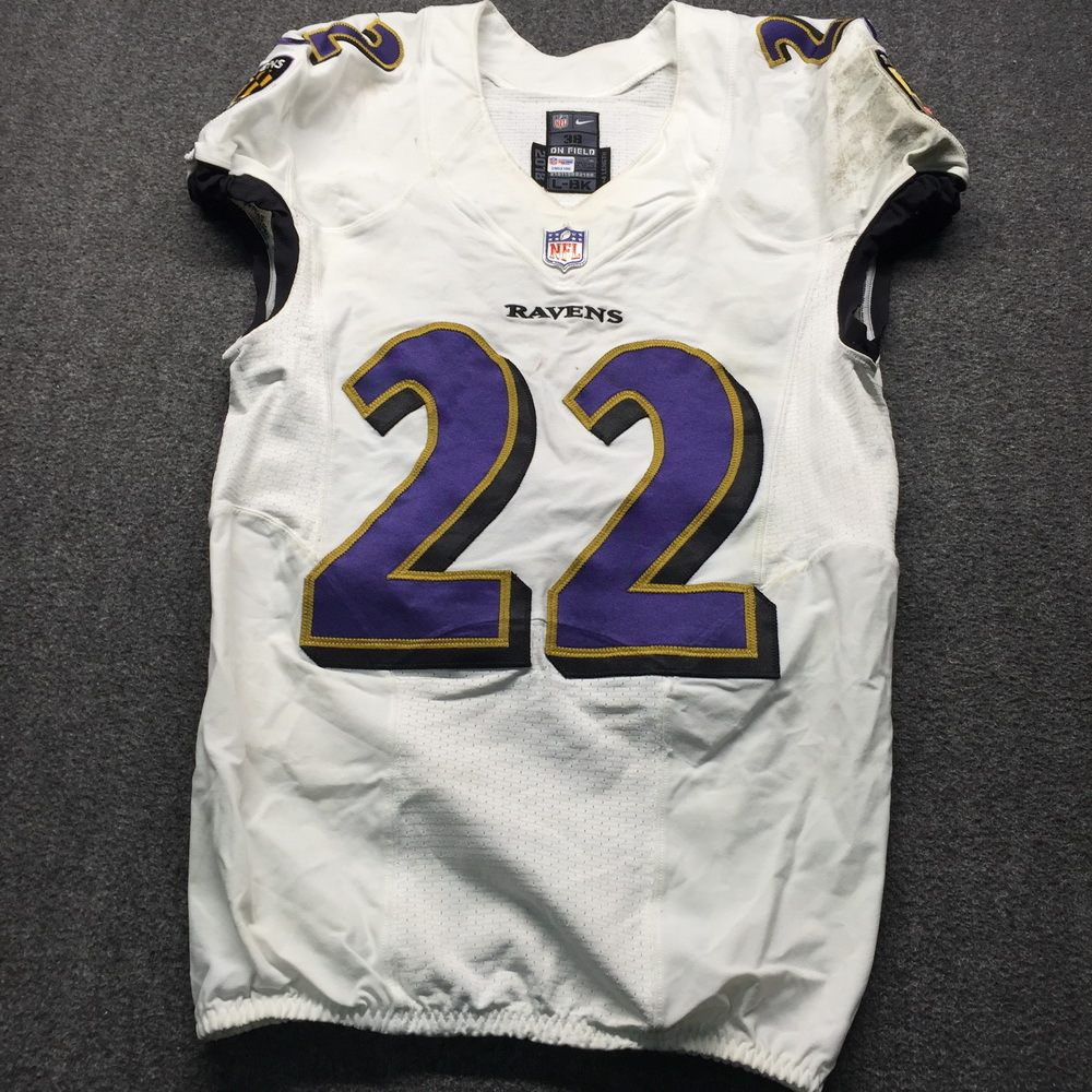 ed254ebe NFL Auction | Crucial Catch - Ravens Jimmy Smith Game Used Jersey ...