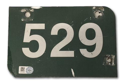 Photo of Wrigley Field Collection -- Aisle Marker 529 -- Removed after 2018 Season