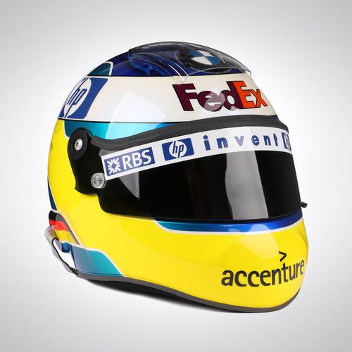 Photo of Nick Heidfeld 2011 Race Spec Helmet
