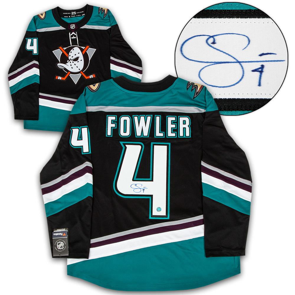 Cam Fowler Anaheim Ducks Autographed Mighty Ducks Fanatics Hockey Jersey