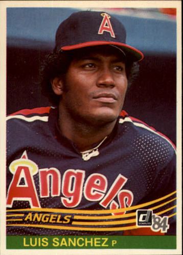 Photo of 1984 Donruss #597 Luis Sanchez