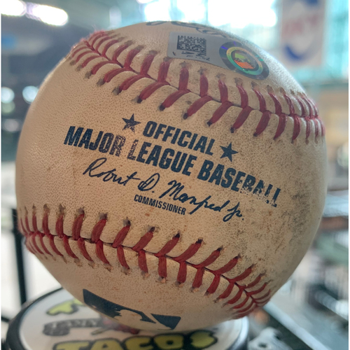 Photo of 2019 Game-Used Baseball  9/20/19 Astros vs. Blue Jays: Cionel Perez to Freddy Galvis-Top 6th (Homerun)