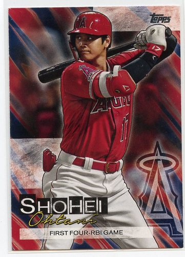 Photo of 2019 Topps Update Shohei Ohtani Highlights #SO20 Shohei Ohtani