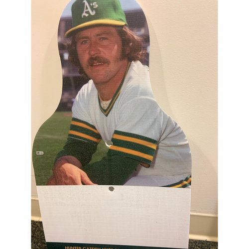 Photo of Oakland A's Community Fund: Catfish Hunter Coliseum Cutout