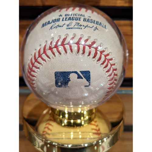 Photo of Red Sox vs. Mariners June 23, 2018 Game Used Baseball