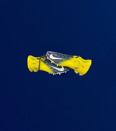 My Cause My Cleats - John Johnson III Custom Cleats - Benefitting The Watts Rams