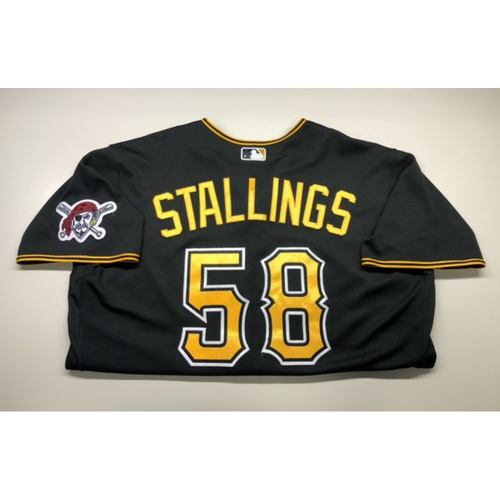 Photo of Team-Issued Jersey: Jacob Stallings 2020 Season