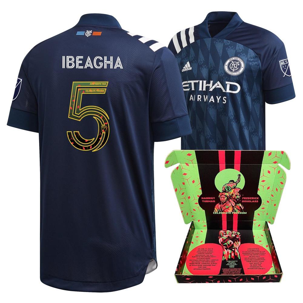 Sebastian Ibeagha New York City FC Player-Issued & Signed