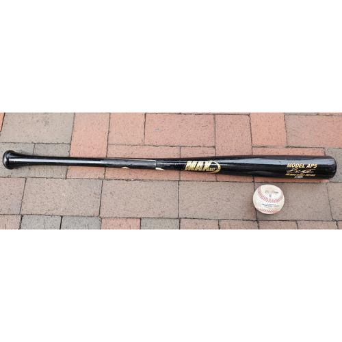 Photo of Cedric Mullins: 2021 Game-Used Broken Bat and Baseball Combo
