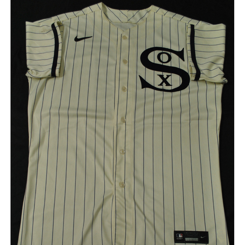 2021 New York Yankees vs. Chicago White Sox in Dyersville, Iowa - Game-Used 1919 Throwback Jersey - Liam Hendriks (Worn 1-2 Innings) - Size 46C + 2B