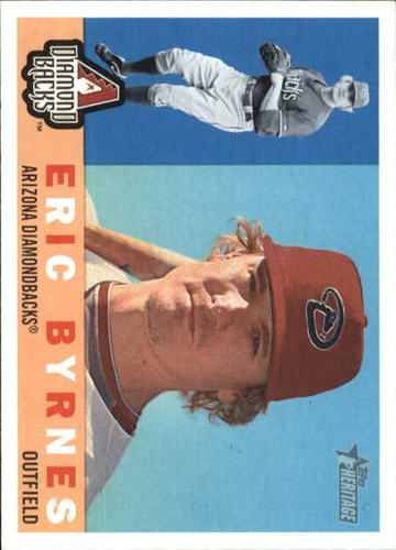 Photo of 2009 Topps Heritage #566 Eric Byrnes