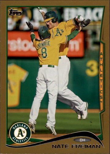 Photo of 2014 Topps Gold #343 Nate Freiman