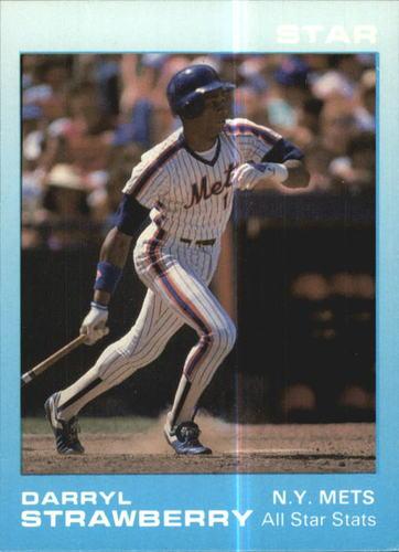Photo of 1988 Star Strawberry Glossy #5 Darryl Strawberry/All-Star Stats