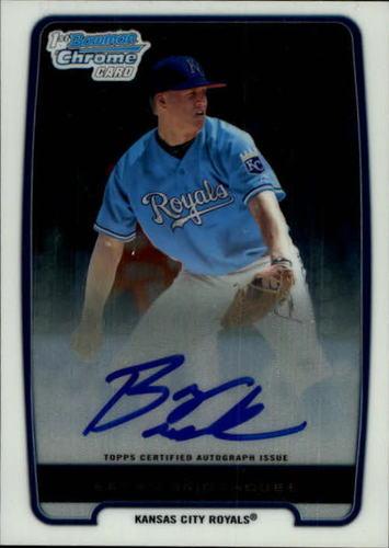 Photo of 2012 Bowman Chrome Prospect Autographs #BCP84 Bryan Brickhouse