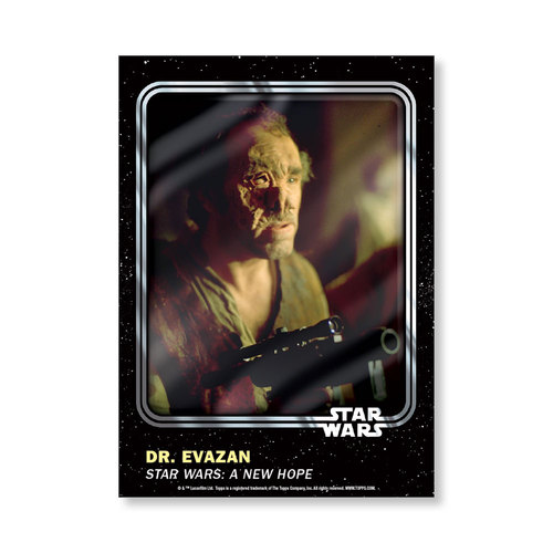 Dr. Evazan 2016 Star Wars Card Trader Base Poster - # to 99