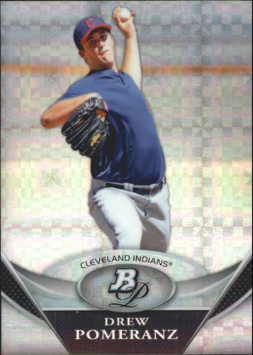 Photo of 2011 Bowman Platinum Prospects X-Fractors #BPP50 Drew  -- Red Sox post-season