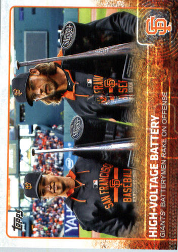Photo of 2015 Topps Update #US21 High-Voltage Battery/Buster Posey/Madison Bumgarner