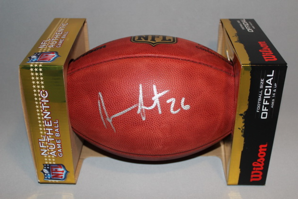 NFL - BRONCOS DARIAN STEWART SIGNED AUTHENTIC FOOTBALL