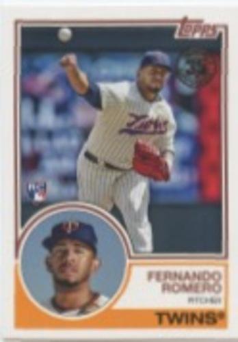Photo of 2018 Topps Update '83 Topps #8350 Fernando Romero