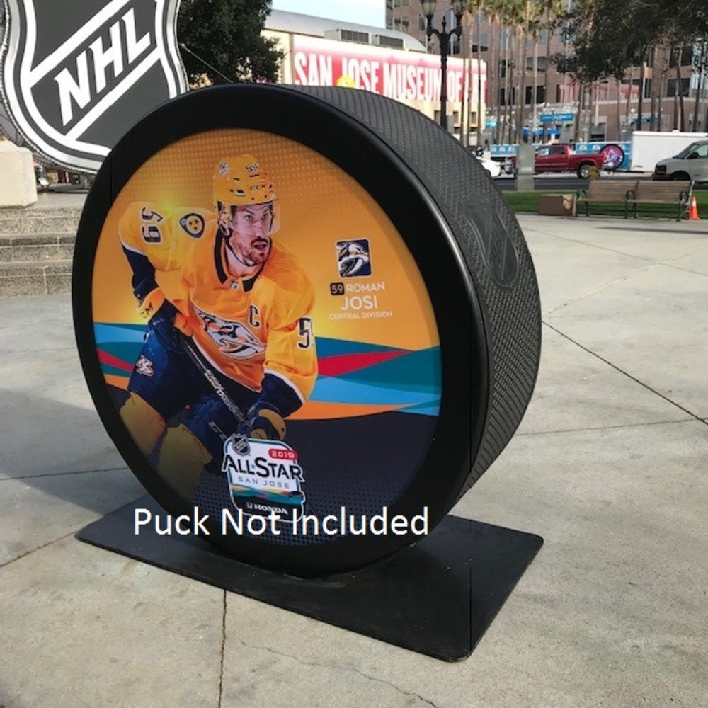 2019 NHL All Star Game Banner Featuring Roman Josi (Nashville Predators)
