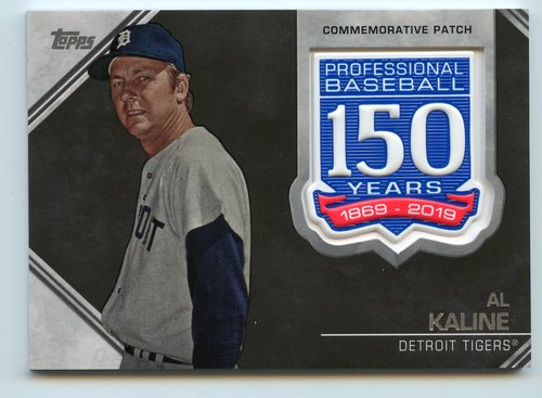 Photo of 2019 Topps 150th Anniversary Manufactured Patches #AMPAK Al Kaline S2