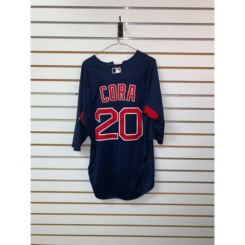 Alex Cora Team Issued Road Batting Practice Jersey