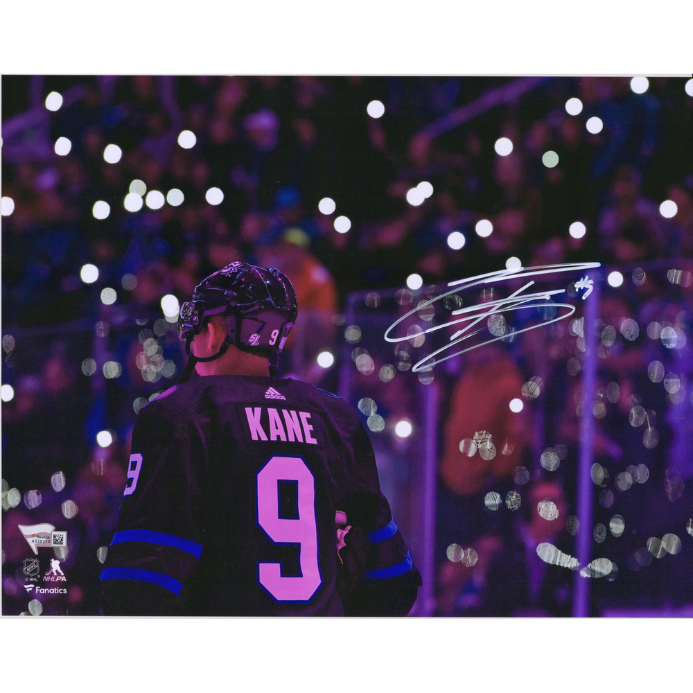 Evander Kane San Jose Sharks Autographed 11