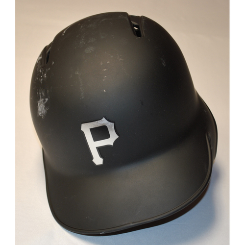 "Photo of Jose ""EL GOCHO"" Osuna Pittsburgh Pirates Game-Used 2019 Players' Weekend Helmet"