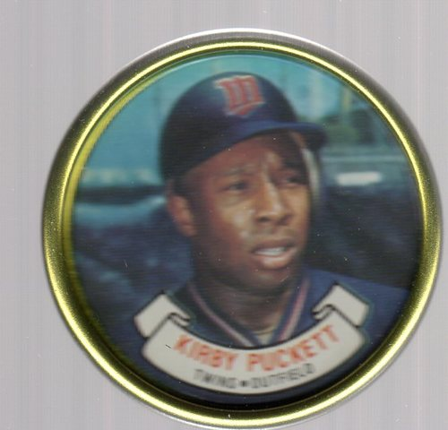 Photo of 1987 Topps Coins #20 Kirby Puckett