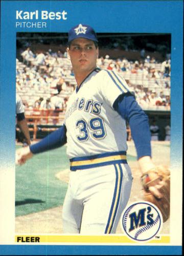 Photo of 1987 Fleer #579 Karl Best