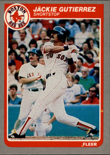 Photo of 1985 Fleer #160 Jackie Gutierrez