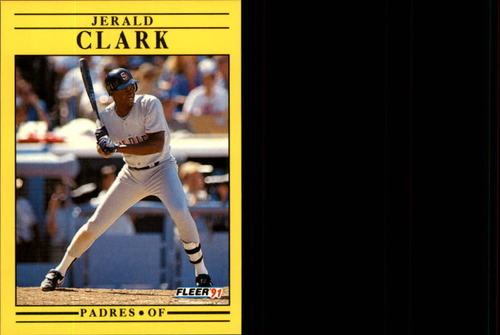 Photo of 1991 Fleer Update #121 Jerald Clark