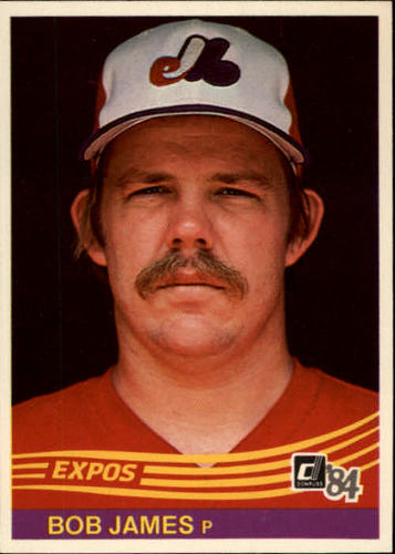 Photo of 1984 Donruss #87 Bob James