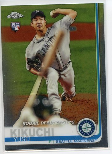 Photo of 2019 Topps Chrome Update #51 Yusei Kikuchi RD