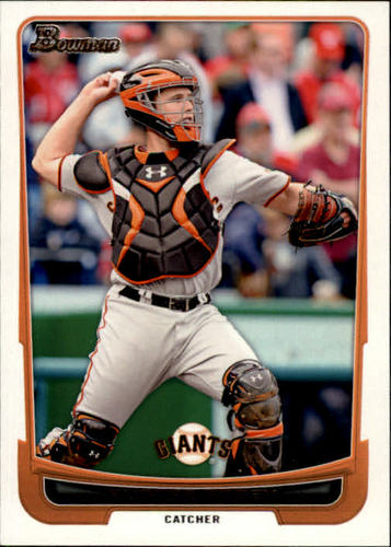 Photo of 2012 Bowman #163 Buster Posey
