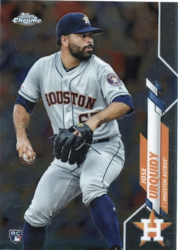 Photo of 2020 Topps Chrome #142 Jose Urquidy RC