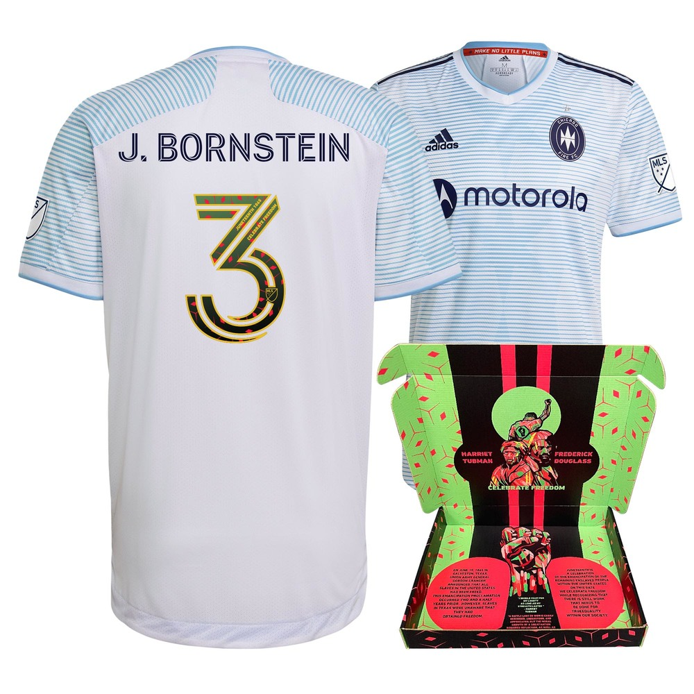Jonathan Bornstein Chicago Fire FC Player-Issued & Signed
