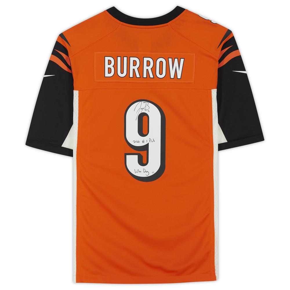 Joe Burrow Cincinnati Bengals Signed Nike Game Jersey - Limited Edition #9 of 9