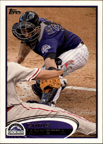 Photo of 2012 Topps #21 Chris Iannetta