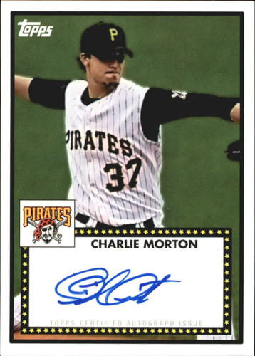 Photo of 2011 Topps Lineage 1952 Autographs #52ACM Charlie Morton