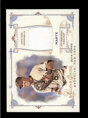 Photo of 2014 Topps Allen and Ginter Relics #FRBSM Starling Marte B