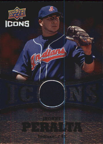 Photo of 2009 Upper Deck Icons Icons Jerseys #PE Jhonny Peralta