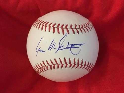 Will McEnaney Autographed Baseball