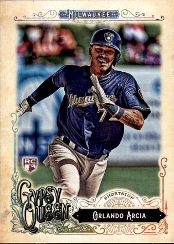 Photo of 2017 Topps Gypsy Queen #299A Orlando Arcia Rookie Card