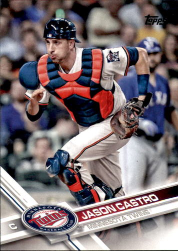 Photo of 2017 Topps #554 Jason Castro