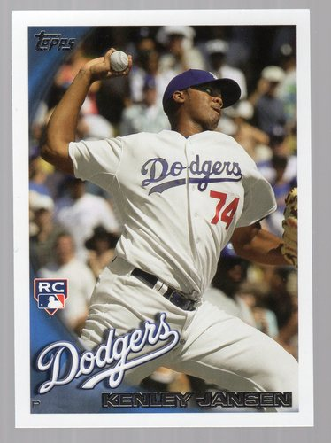 Photo of 2010 Topps Update #US114 Kenley Jansen Rookie Card