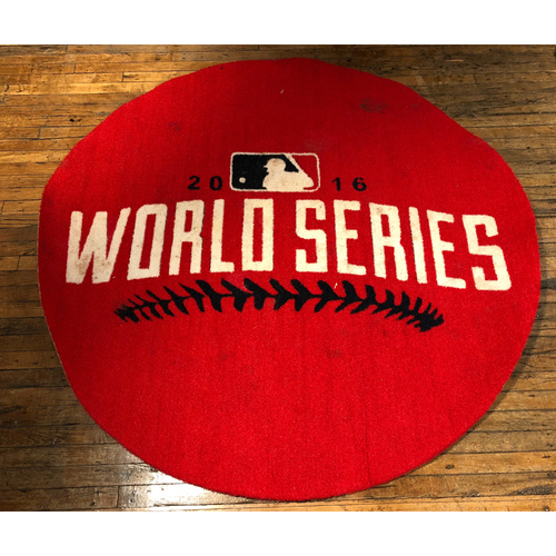 Photo of 2016 World Series - Game-Used On-Deck Circle (Home Side) from Games 1, 2, 6 and 7